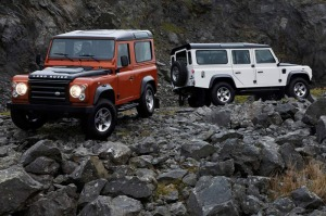 Land Rover has announced two new limited edition luxury vehicles, the Fire and Ice Defenders